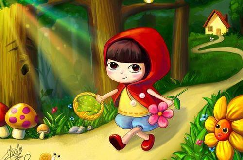 小兔子采蘑菇作文